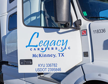 About Legacy Carriers - Dallas, TX